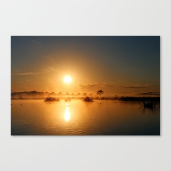 Comes the Sun Canvas Print