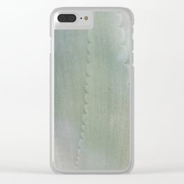 Agave Aglow Clear iPhone Case