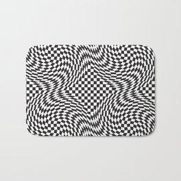 Checkered Warp Bath Mat