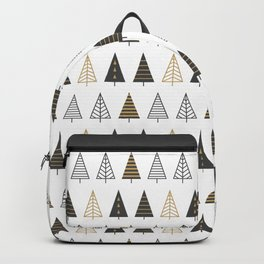 MODERN CHRISTMAS TREES Backpack