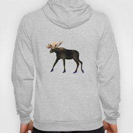 Moose in heels  Hoody