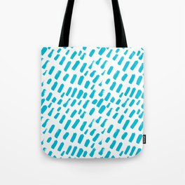 Dashing Darling - Aqua Tote Bag