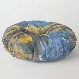 Yosemite Fall Color 11-1-18 Floor Pillow