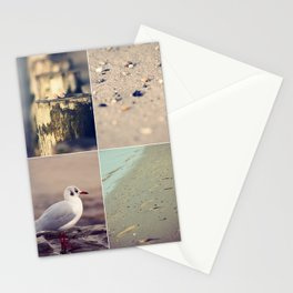 Beach Impressions Stationery Cards
