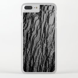 Limestone Terraces Clear iPhone Case