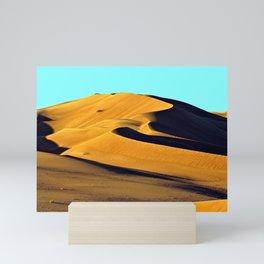 Sand Dunes Sahara Desert Landscape 24 Mini Art Print