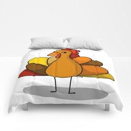 Turk-Tacular Thanksgiving Turkey Comforters