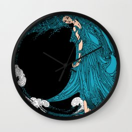 Sea Goddess  Wall Clock