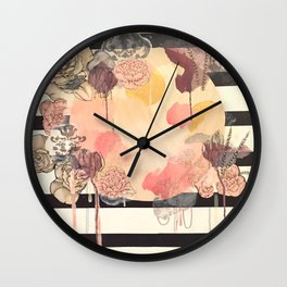 La Vie en Rose (Full) Wall Clock
