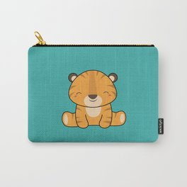Kawaii Cute Baby Tiger Carry-All Pouch