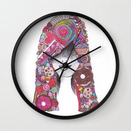 365 cabelos - Candy Wall Clock