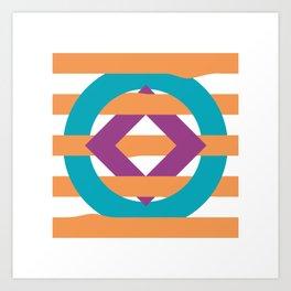 Sha Pes Art Print