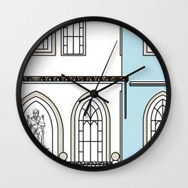 Hospital Dr. José María Vargas de Caracas -Detail- Wall Clock