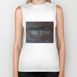 The (F) Ire Zone Biker Tank