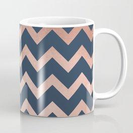 Blue & Pink Chevron Coffee Mug