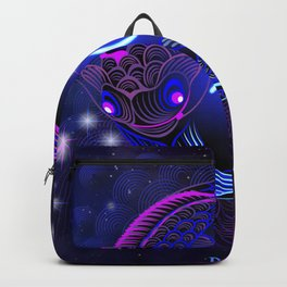 Zodiac neon signs — Pisces Backpack