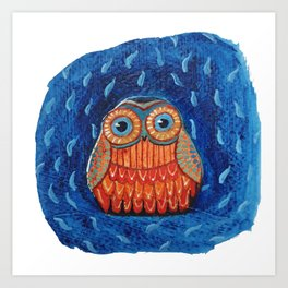 Owl you need is love Art Print