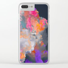 Orage (Colorful clouds in the sky III) Clear iPhone Case