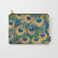 Peacock Freathers Carry-All Pouch