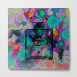 CC NO.5 Floral Remix 2 Metal Print