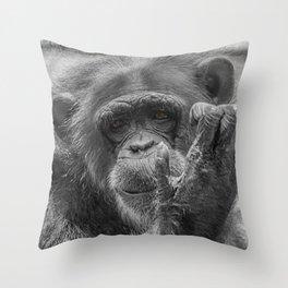 Soul Sad Throw Pillow