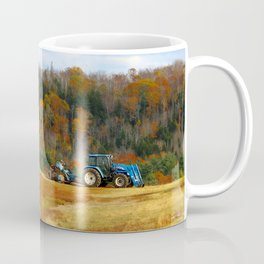 Blueberry Farm Foliage Coffee Mug