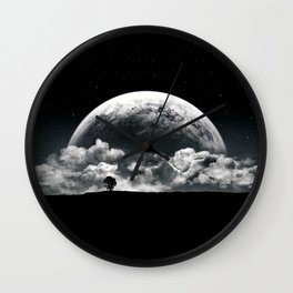 The Rise of a Planet II Wall Clock