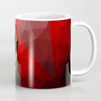doberman Mugs featuring Doberman by Ruveyda & Emre