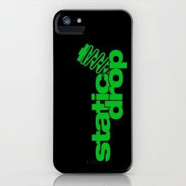 Static drop v5 HQvector iPhone Case