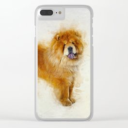 Chow Chow Clear iPhone Case