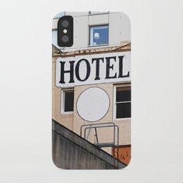 H OTEL iPhone Case