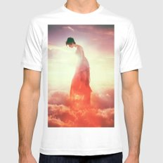 Sunset in the Clouds Mens Fitted Tee White SMALL