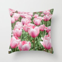 Arlington Tulips Throw Pillow
