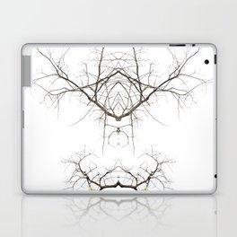 Mirrored Trees 1 Laptop & iPad Skin
