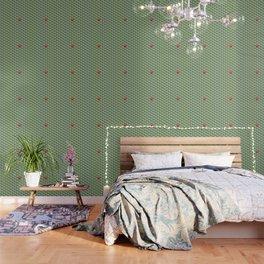 Be yourself - geomtric op art pattern Wallpaper