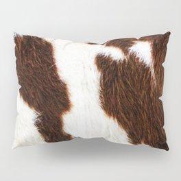 Cowhide Brown Spots Pillow Sham