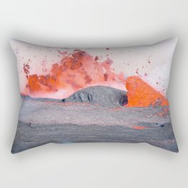 volcano #society6 #decor #buyart Rectangular Pillow