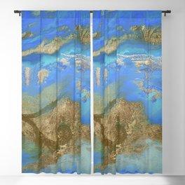Cobalt Sea Blackout Curtain