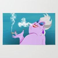 ursula Area & Throw Rugs featuring Stoner Ursula by Fransisqo82