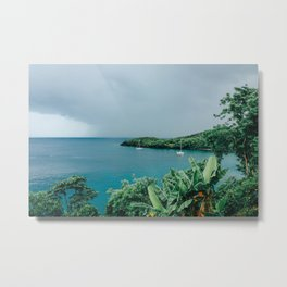 Sailboats in St. Lucia Metal Print