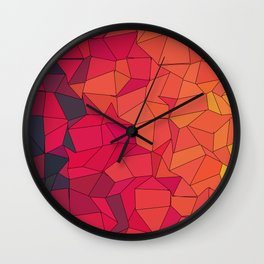 Lava King Wall Clock