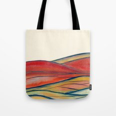Watercolor abstract landscape 28 Tote Bag