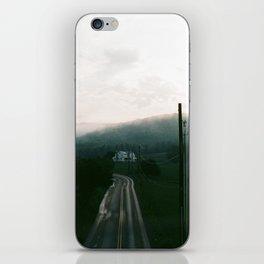 Foggy Sunset on Film iPhone Skin