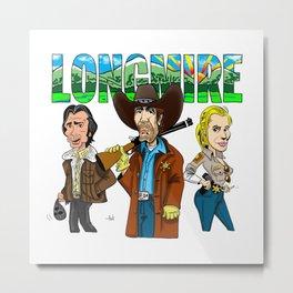 Longmire Metal Print