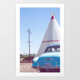 Sleep at the Wigwam, No. 2 Art Print