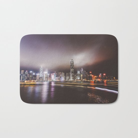 Night city 5 Bath Mat