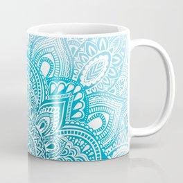 Mandala Ombre Fade Coffee Mug