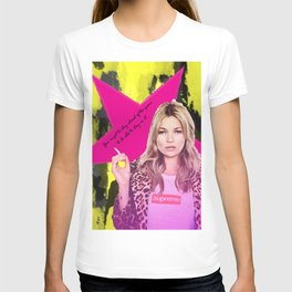 Fashion abstract poster T-shirt