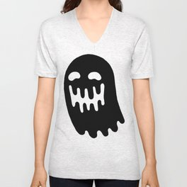Dripping Ghost Unisex V-Neck