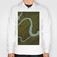 looking for alaska Hoodies featuring Alaska Streams by Andy Barron